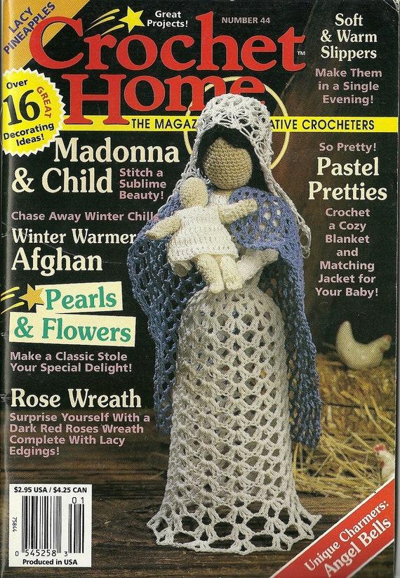 Crochet Stitches Magazine : 44 - Crochet Home magazine, crochet patterns, Christmas issue