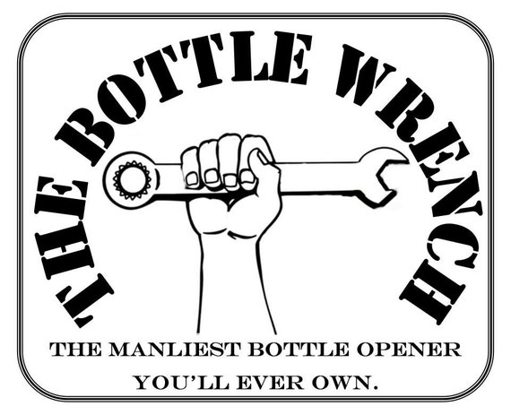 SET OF 2 - The Bottle Wrench Bottle Opener - Original & Small