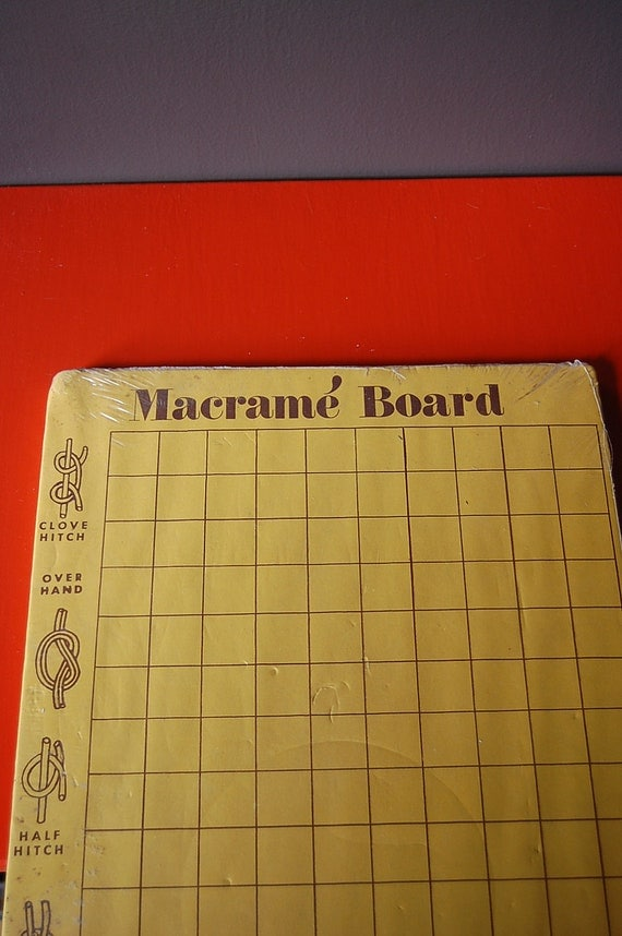 macrame boards vintage macrame board friendship bracelet board by 8496