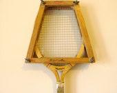 Wooden Tennis Racket - 1960's