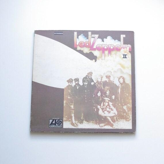 Led Zeppelin II Vinyl Record - 1969 - Jimmy Page - Robert Plant