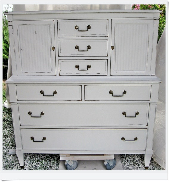 "Beautifully-Crafted ""Heritage"" Chest - Use as Dresser or Entertainment Center"