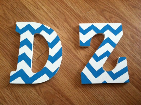 Initials/Sorority Letters (2 letters-Made to order)