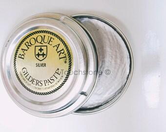 Baroque Art Gilders Paste Silver 30ml 1.5oz #45-116