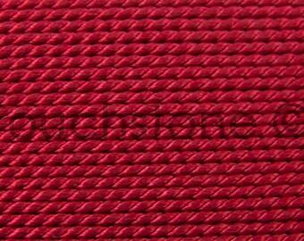 Griffin Natural Silk Bead Cord No 6 Garnet #45-15