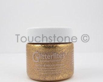 Desert Gold Glitterlites Angelus Glitter Paint 1oz #6-730220