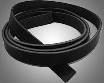 "Latigo Leather Strap Black 1/2"" x 72""#100-473901"