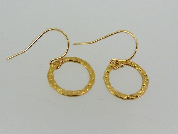 Classic Gold Petit Hoop Earrings