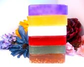 Glycerin Soap Variety Pack - 3 Bars - Natural Handmade Detergent Free Soap - You Pick the Scents