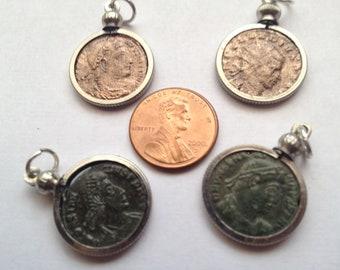 PREMIUM Quality ANCIENT ROMAN Coin Pendants