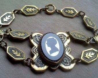 Vintage Cameo Bracelet