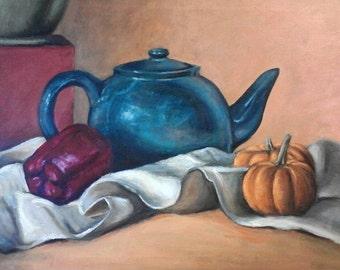 Tea Kettle Still Life