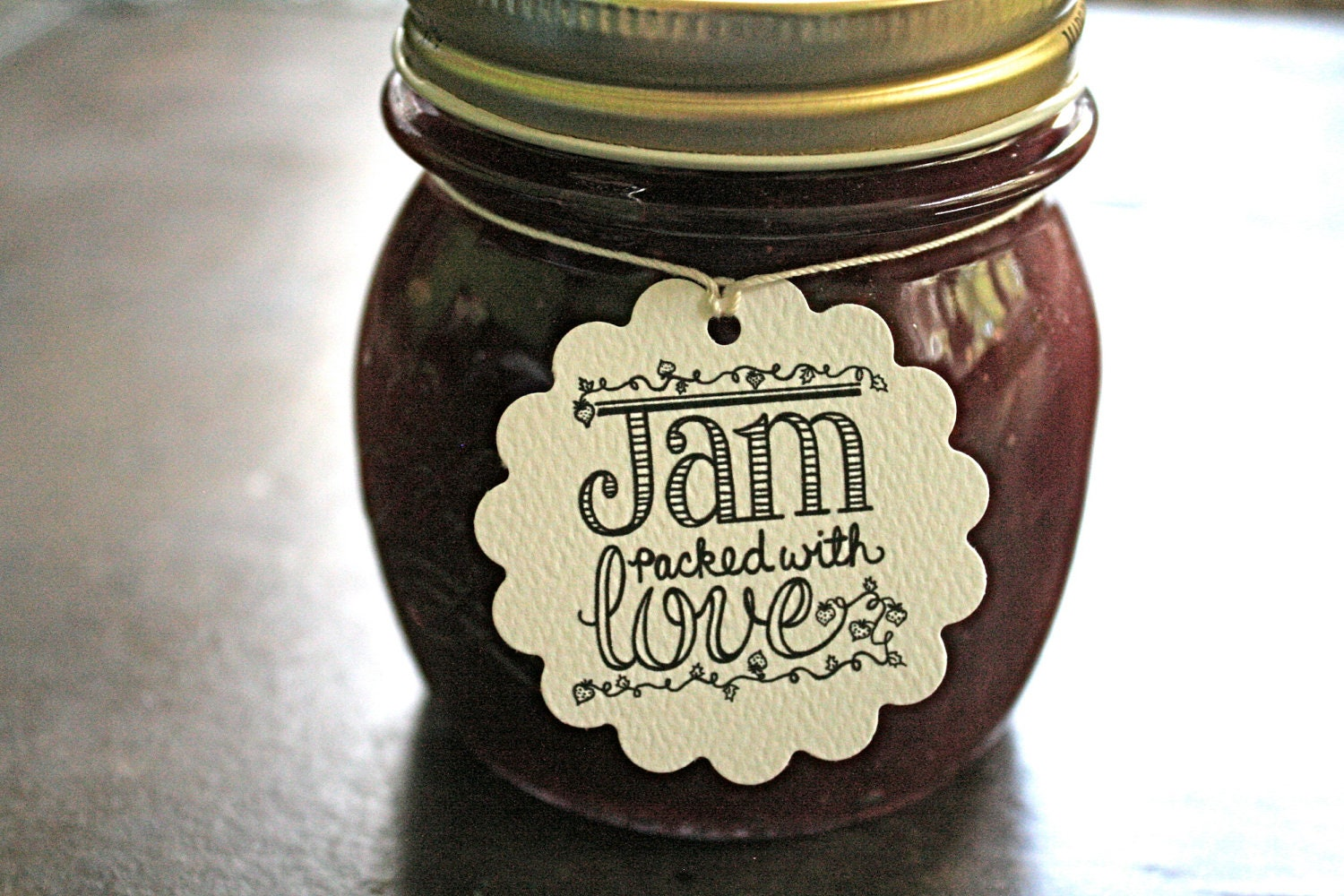 personalized wedding favor tags canning tags set of 20 jam