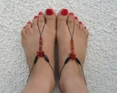 Barefoot Sandals, Foot Jewelry, Anklet Jewelry, Beach sandals