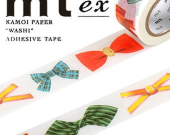 MT Washi Masking Deco Tape EX Ribbons Bows Design