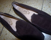 TOD'S Shoes brown colors  Authentic  . Size 37.5