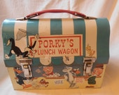 1959 Porky's Lunch Wagon Dome Lunch Box