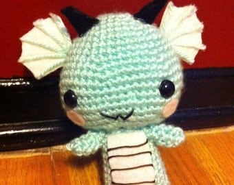 Crocheted Baby Dragon