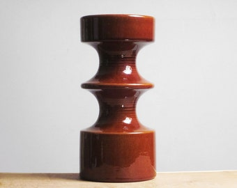 Large Mid Century Modern Cari Zalloni candle holder by Steuler (1966)