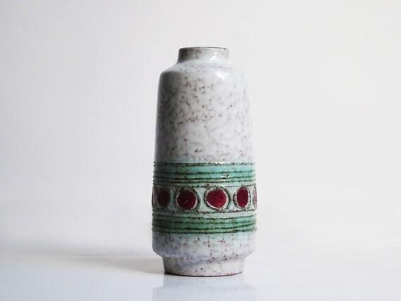 Mid century vase by VEB Haldensleben (East Germany, 3045B)