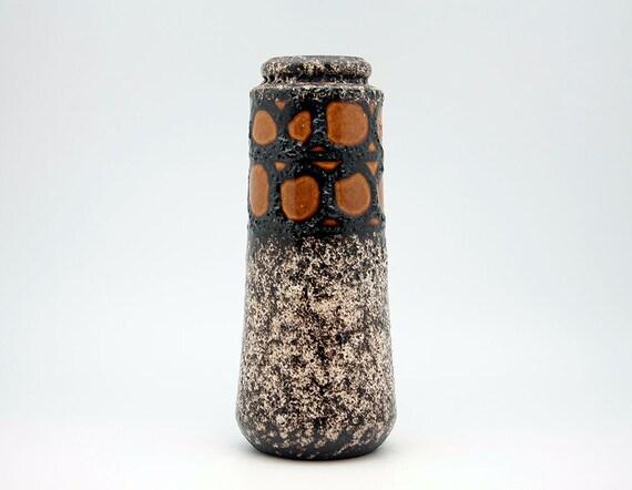 West German fat lava vase by Scheurich (206-26)