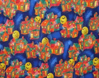 "Halloween ""Boo"" by Hoffman 4728 Cotton Print Fabric"