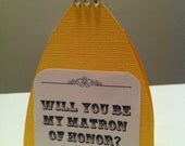 Bridesmaid Card Set