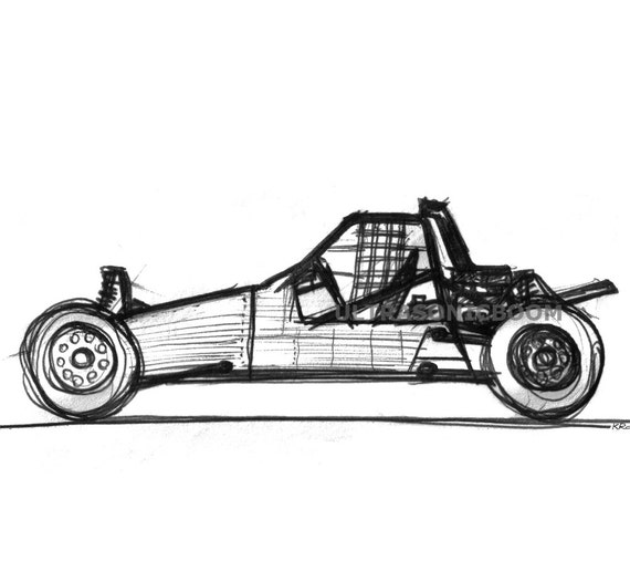 dune buggy racer coloring pages - photo#33