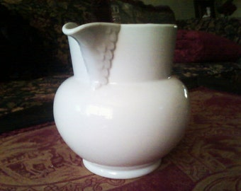 SALE White Swan Pitcher