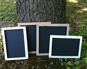 Wedding Decoration Chalkboard - Chalk Board - Children's Chalkboard - Small Chalk Board Set - Framed Chalkboards