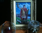ST. EXPEDITE Altar Tools and Petition Instructions for assistance with financial goals, getting a job, stuck on a project or to stop procras