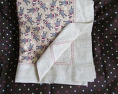 Reserved for Regina Skidmore Sock Monkey Decor/ Baby Blanket/ 4Burp Cloths