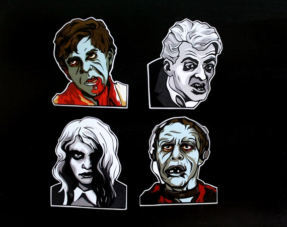 ZOMBIES - Pack of 4 Stickers