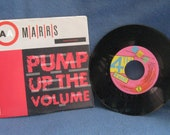 "Vintage, MAARS  ""Pump Of The Volume"", 7"" 45 RPM Vinyl Single, Original Press, 80's Dance"