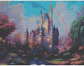Cinderella Castle Design 2 Cross Stitch Pattern PDF (Pattern Only)