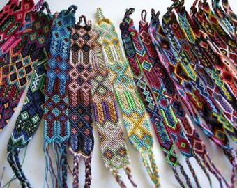Wholesale Lot of Friendship Bracelets (25 bracelets)