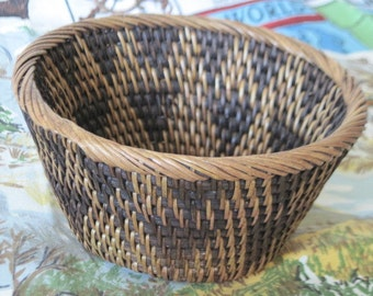 Pretty Basket Made in Indonesia Looks to Been Handmade