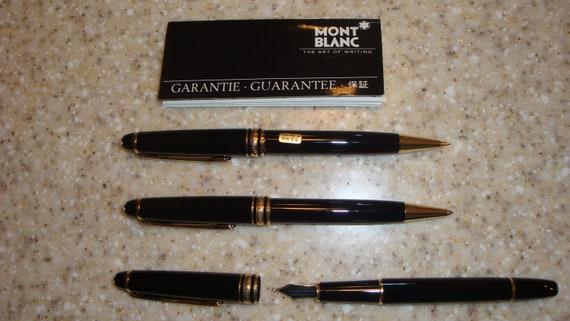 Mont Blanc Meisterstuck Pen Set