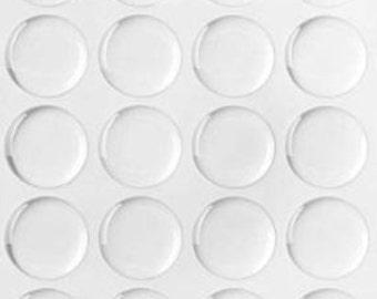 Epoxy Dome Stickers - 25mm, 1 inch - 100 epoxy dome stickers