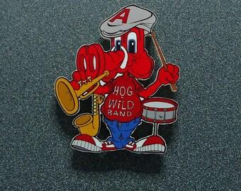 "Arkansas Razorbacks ""Hog Wild Band"" Bandmember Ornament/Magnet"
