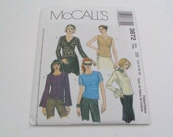 McCalls Pattern 3872 Miss Tops