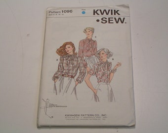 KWIK SEW Pattern 1096 Miss Blouse