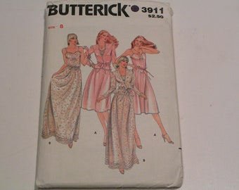 Vintage Butterick Pattern 3911 Miss Jacket Dress