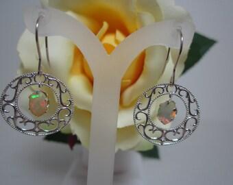 Ethiopian Opal Earrings