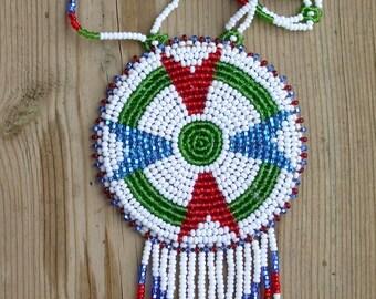 native american necklace, Cree necklace
