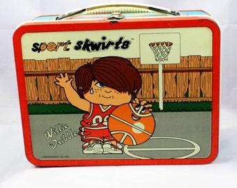 Vintage Sport Skwirts Lunchbox