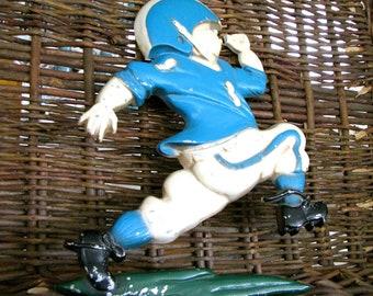 Football Decor- HOMCO- Vintage Metal Sports Theme