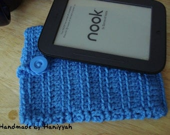 MARKDOWN SALE!!! - Nook Simple Touch cover Case Sleeve Jacket Bag - Handmade Crochet