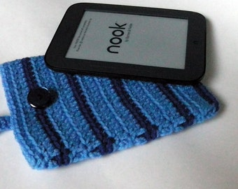 MARK DOWN SALE!  Nook Simple Touch cover Case Sleeve Jacket Bag - Handmade Crochet