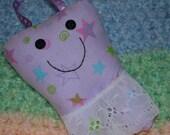 Purple/Stars Tooth Fairy Pillow
